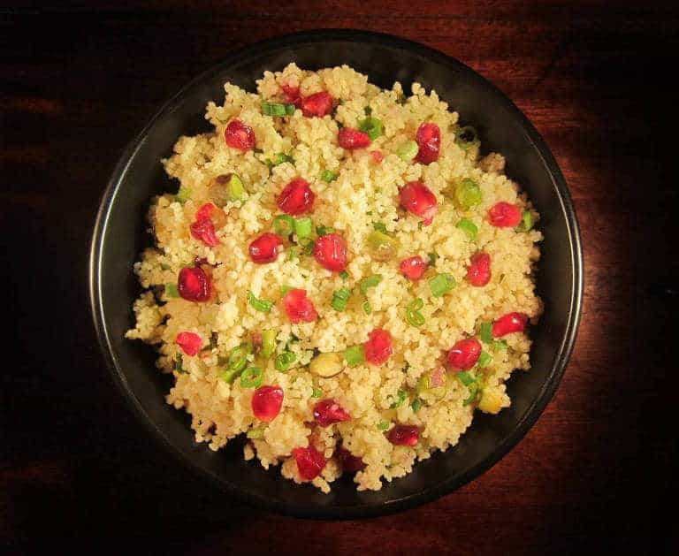 with couscous pomegranate and pistachio couscous salad pomegranate ...