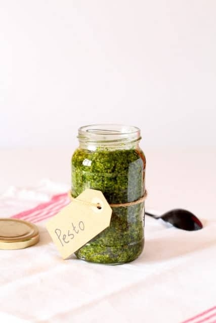 Wild Garlic Pesto @ Recipes From A Pantry