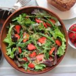 Strawberry and Caramelised Onion Salad
