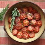 Slow Roasted Tomatoes with Herbs