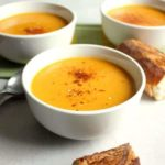 Roasted Butternut Squash Soup with Coconut