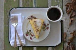 1-rosemary olive oil cake from our neck of the woods