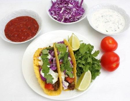 Mexican Lentil Tacos