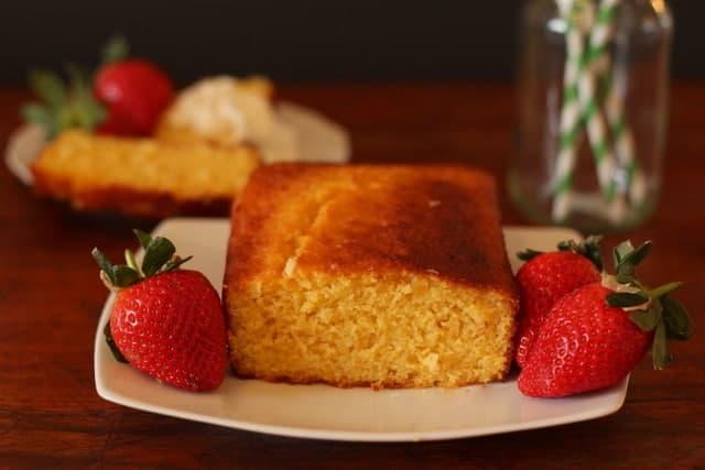 marmalade cococnut semolina cake @ Recipes From A Pantry