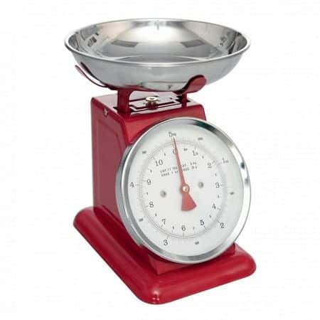 New Retro Kitchen Scales from Dotcomgiftshop