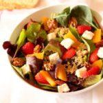 Orange and Strawberry Quinoa Salad