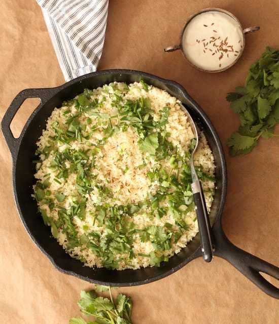 How to make cauliflower couscous recipe @ Recipes From A Pantry