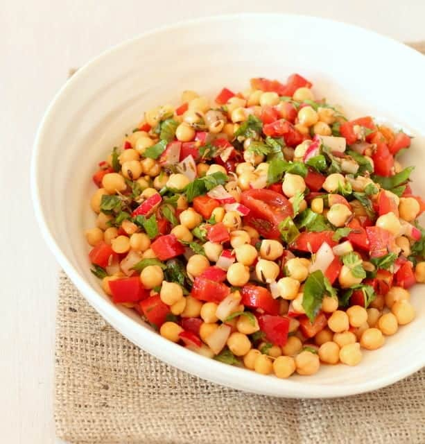 Chickpea Salad Recipe @ Recipes From A Pantry