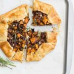 Red Onion, Feta and Sweet Potato Galette