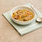 Borlotti Bean and Farro Soup