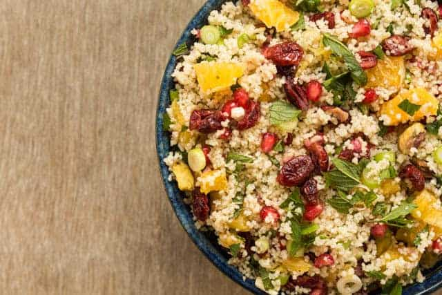 Pomegranate Couscous Salad Recipe | Recipes From A Pantry