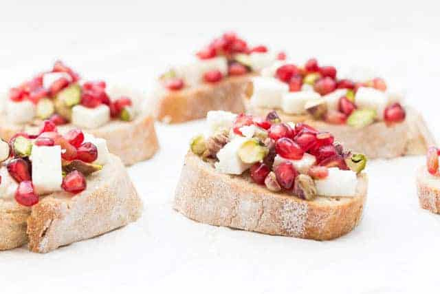 Pistachio Crostini Recipe @ Recipes From A Pantry