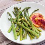 Roasted Blood Orange and Asparagus