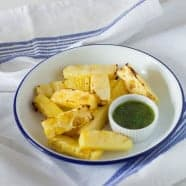 Grilled Pineapple with a Sorrel Wine Dip – Sierra Leone Flavours