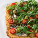 An Easy Couscous Pizza Base with Sardines and Tomatoes – Sierra Leone Flavours