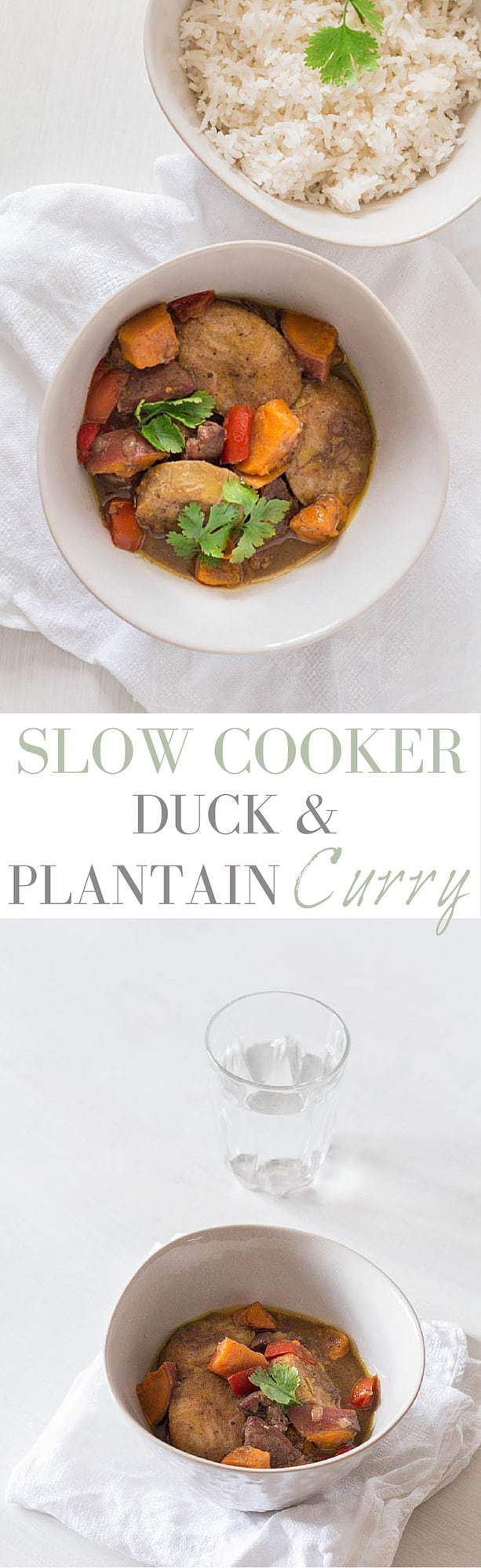 Slow Cooker Duck and Plantain Curry | Recipes From A Pantry