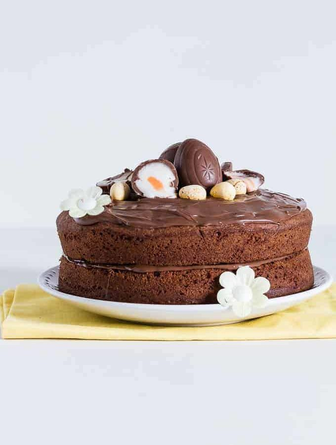 Cream-egg-nutella-cake-recipe | Recipes-From-A-Pantry