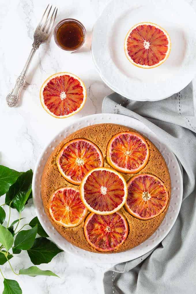 ... Oil, Cardamom and Blood Orange Polenta Cake - Recipes From A Pantry