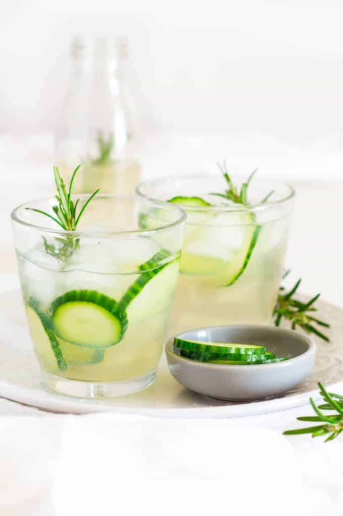 Rosemary and Cucumber Infused Ginger Beer + Hisense American Fridge Freezer