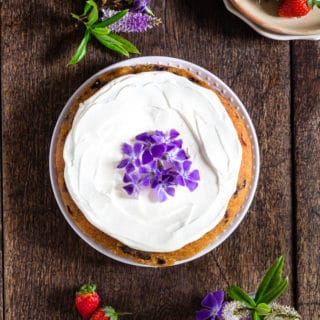 Blueberry strawberry cake_ - Recipes From A Pantry