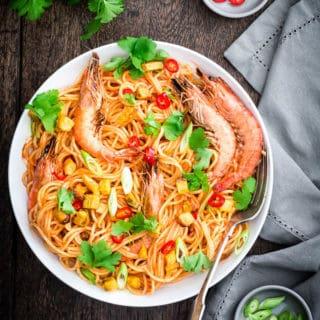 jollof pasta recipe -8 | Recipes from A Pantry
