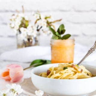 Coconuty Pancetta and Cheese spaghetti Carbonara-4 |Recipes From A Pantry