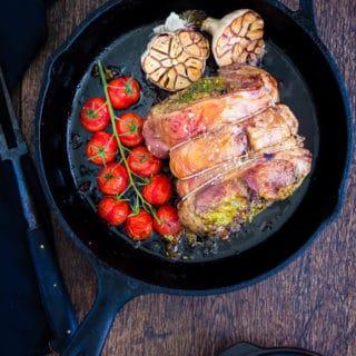 Pesto Stuffed Roast Lamb-20 | Recipes From A Pantry