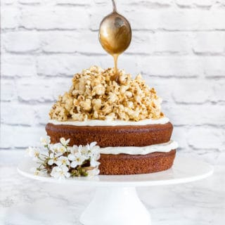 nutmeg plantain cake with coconut caramel popcorn-3 |Recipes From A Pantry