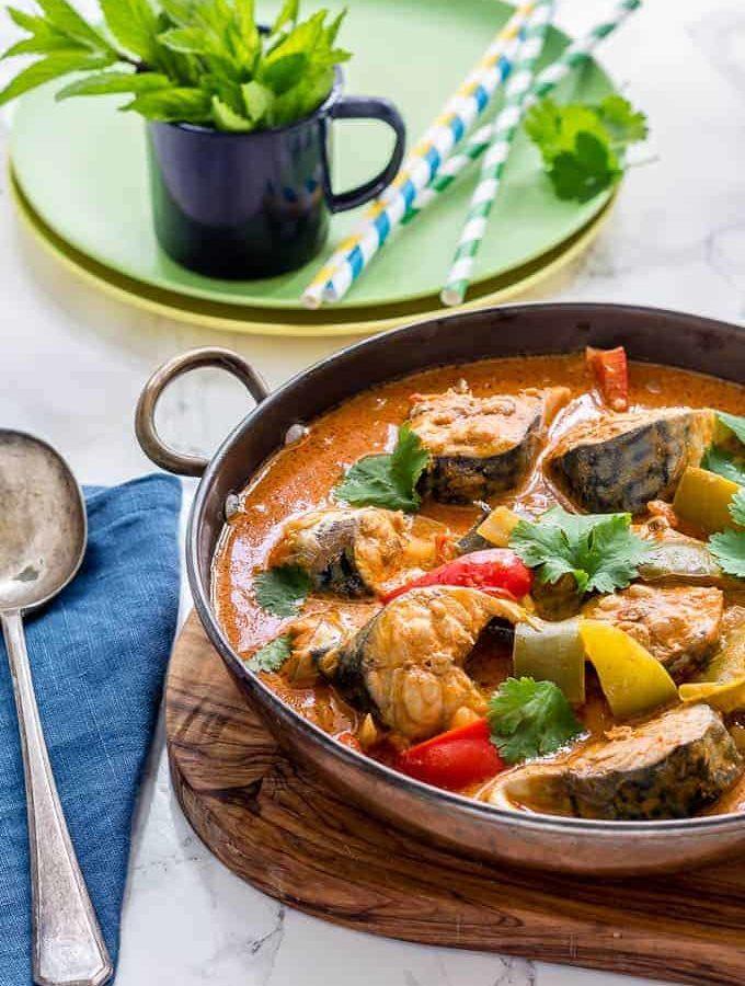 Moqueca Brazilian Coconut Prawn Stew Recipe