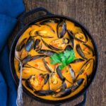 Tanzanian Style Mussel Curry {GF}