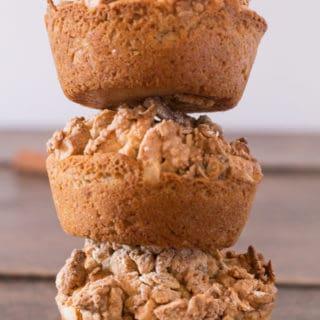 Pumpkin Pie Cashew Stresuel Granola Muffins | Recipes From A Pantry