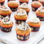 Halloween Mini Pumpkin Muffins