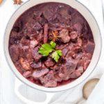 Purple Potato And Beef Curry {GF}
