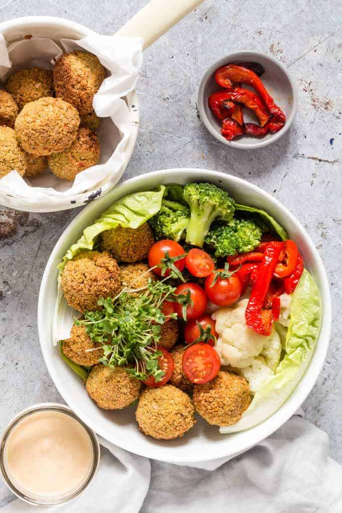 baked-quinoa-falafels-with-an-orange-tahini-dressing-13 - Recipes From ...