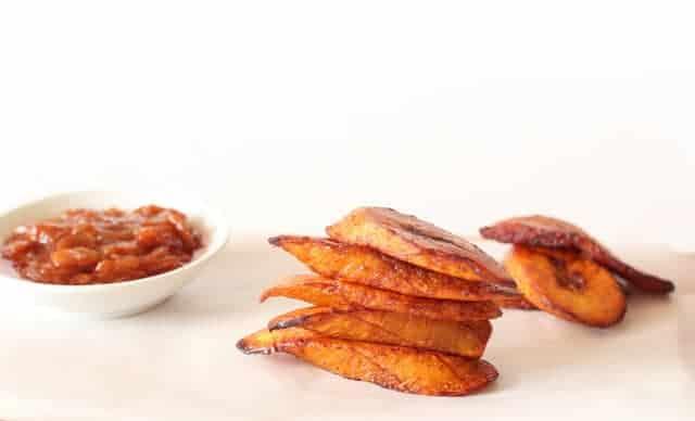 Fried plantains @ Recipes From A Pantry