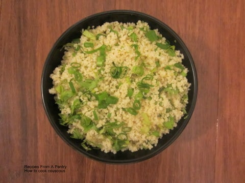 How to make couscous