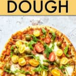 EASIEST EVER INSTANT POT PIZZA DOUGH