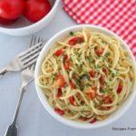 Garlic and Chilli Spaghetti