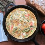 Asparagus Frittata with Feta and Thyme {Gluten-Free, Keto}