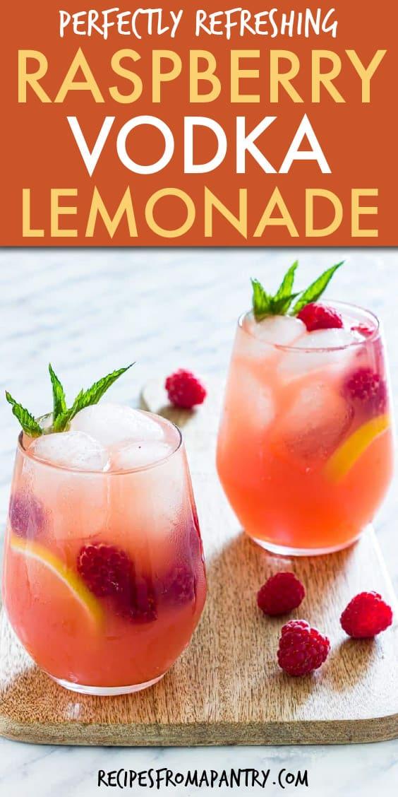 raspberry vodka lemonade