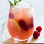 Gorgeous Raspberry Vodka Lemonade Cocktail