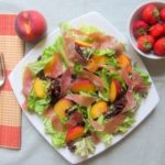 Peach and Parma Ham Salad