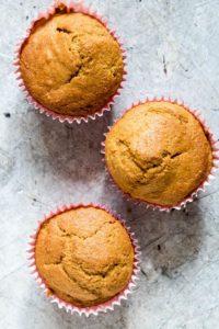 3 butternut squash muffins