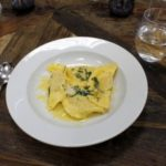 Review of the Underground Cookery School and a Pumpkin Ravioli Recipe