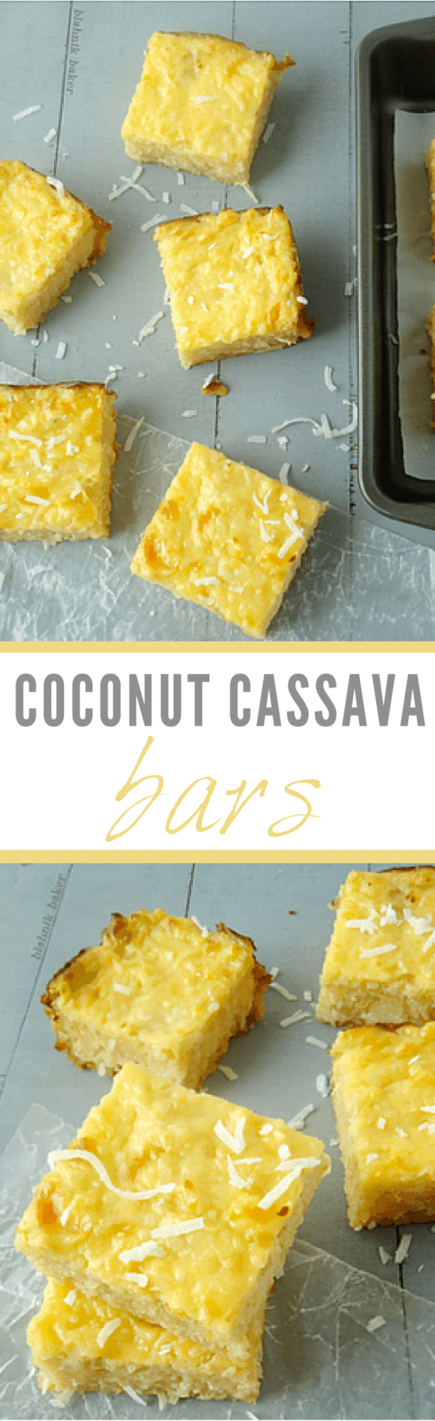 Coconut Cassava Bars Recipes From A Pantry
