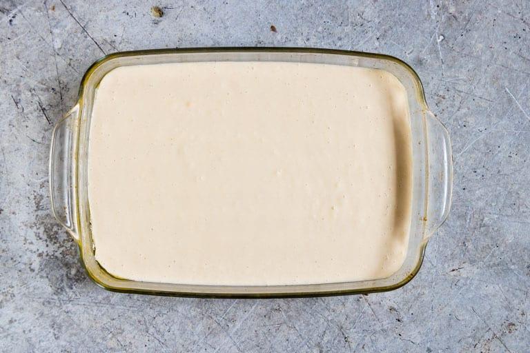 Cassava Cake Batter