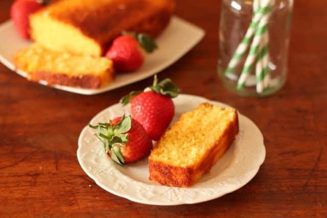 Marmalade coconut adn semolina cake @ Recipes From A Pantry