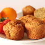 Orange Spiced Almond Muffins