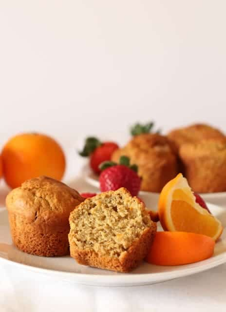 orange spiced almond muffins muffins @ Recipes From A Pantry
