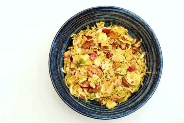 Caraway Apple and Brussles Sprout Slaw @ Recipes From A Pantry